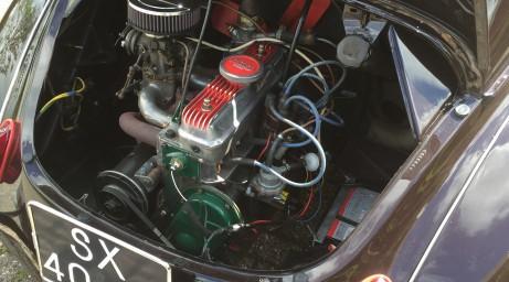 Gordini motor en 4 bak!